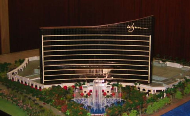 Wynn Macau Taking Shape Two Way Hard Three Las Vegas